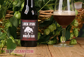 birra artigianale brown ale winter oak